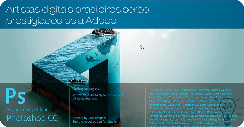 Artistas digitais brasileiros serão prestigiados pela Adobe