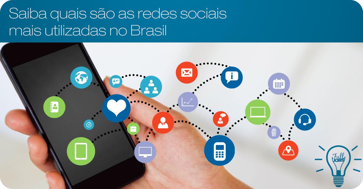 Quais são as redes sociais mais utilizadas no Brasil