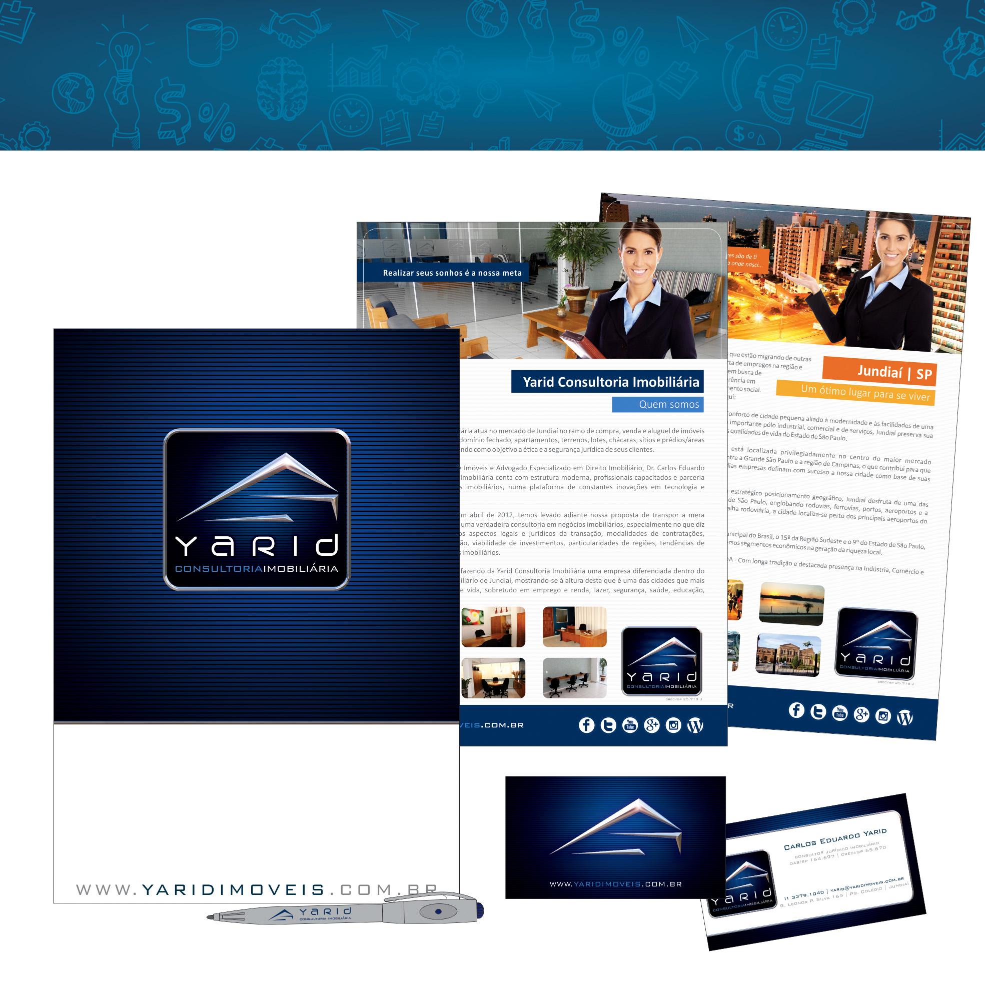 YARID CONSULTORIA IMOBILIÁRIA  |  Branding
